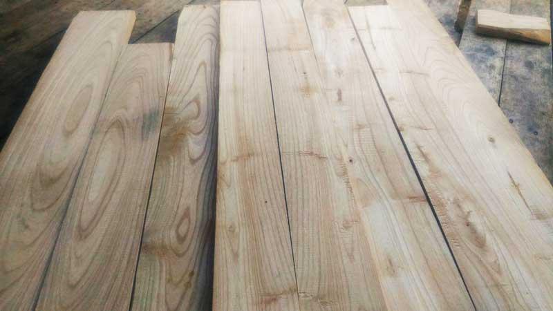 Sirap kayu sungkai